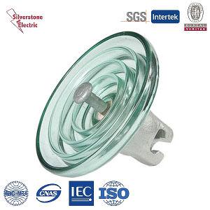 U70 35kn Suspension Disk Troughed Glass Insulator IEC