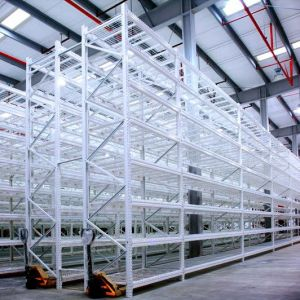 Lonspan Shelf Metal Shelving with Wire-Decking pictures & photos