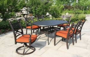 Best Sellers Garden Dining Set Aluminum Furniture pictures & photos