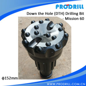 Mission DTH Down The Hole Hammer Bit for Water Drilling pictures & photos