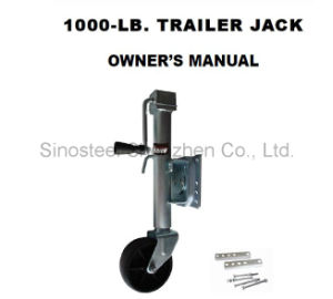 1000 Lbs. Trailer Jack pictures & photos