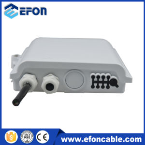 Waterproof 8core Fiber Optic Terminal Box with Splitter 1: 8 pictures & photos