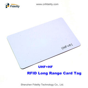 Dual Frequency UHF+M1 RFID Card Tag for Public Transportation