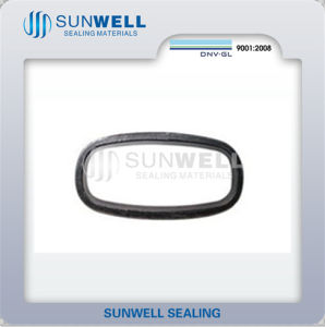 Non Rounded Spiral Wound Gaskets Have Oval Style and Oblong Style pictures & photos