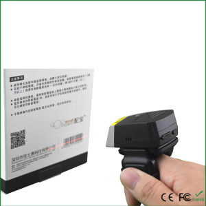 1d Laser Bluetooth Finger Ring Barcode Scanner Fs01 pictures & photos
