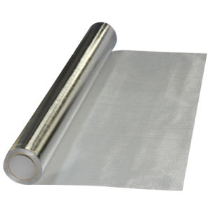 Aluminum Foil Coated Fiberglass Heat Insulation Fabric pictures & photos