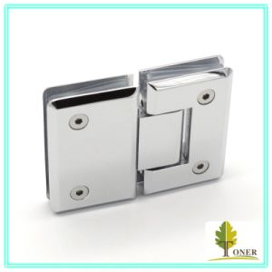 Square Bevel Edge 180 Degree Shower Hinge/ Zinc Hinge