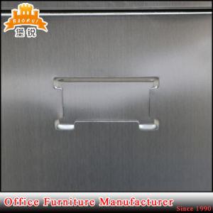 Stainless Steel Glass Door Hospital Cupboard Metal Medicine Storage Cabinet pictures & photos