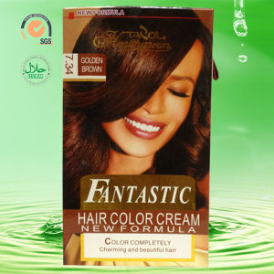 2016 Fantastic House-Use No Damage Gloden Brown Hair Dye pictures & photos