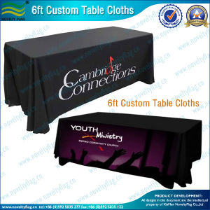 Professional Design Customize Spandex Table Cover with Logo (M-NF18F05022) pictures & photos