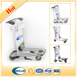 Airport Passenger Baggage Luggage Shopping Cart Trolley with Brake pictures & photos