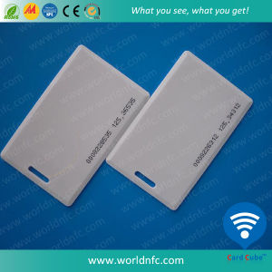 Lf 125kHz RFID ABS Smart Thick Card for Membership pictures & photos