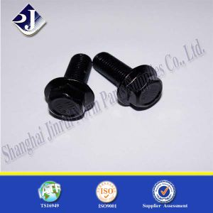 Non-Standard Flange Bolt (Black Zinc) pictures & photos