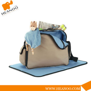 High Quality Brand Functional Mummy Changing Diaper Baby Bag pictures & photos