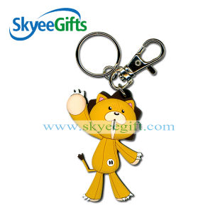 High Quality Cartoon Keyring Custom Rubber Soft PVC Keychain pictures & photos