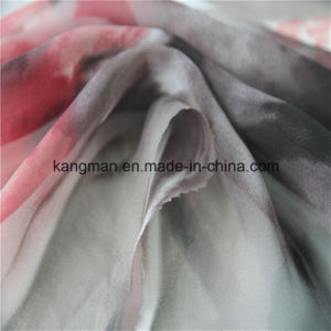 100%Poly Chiffon Fabrics with Digital Printing pictures & photos