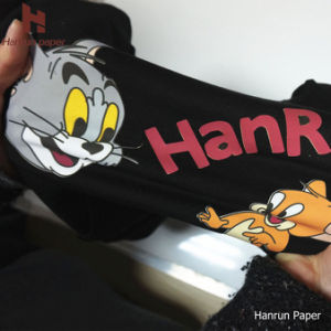 High Quality PU Coating Layer, Easy Cutting Dark T-Shirt Transfer Paper for Cotton Fabric pictures & photos