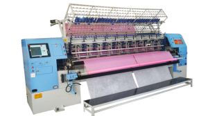 Computer Shuttle Multi-Needle Quilting Machine High Speed 128 Inches pictures & photos