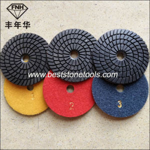 Wd-10 Diamond 3 Step Wet Polishing Pad (100X3.5mm)