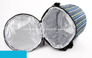 Outdoor Ice Aluminum Foil Picnic Insulated Can Wine Beer Lunch Cooler Bag pictures & photos