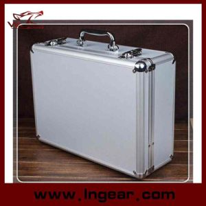 Tool Box 28cm Aluminum Alloy Tool Case for Pistol Gun Case pictures & photos