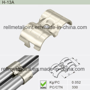 Nickel Plated Metal Joint for Pipe Rack System (H-13A) pictures & photos