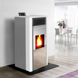 Two Door Design Biomass Stove Wood Pellet Fireplace pictures & photos
