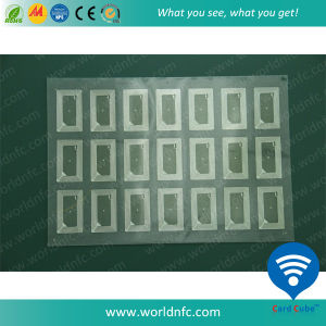 F08 Inlay with Customized Layout for RFID Card Production pictures & photos