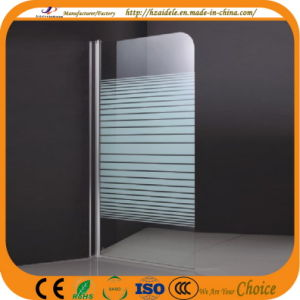 Stripe Glass Bath Screen for Bathtub (ADL-K4) pictures & photos