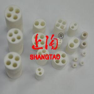 Ceramic 99% Alumina Flange Tube pictures & photos