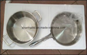 Network TV Sale Waterless Greaseless Stainless Steel Cookware pictures & photos