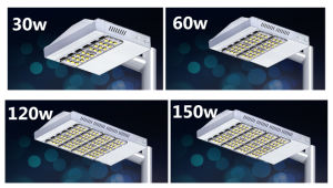 Super Bright IP65 Meanwell Driver Energy Saving 90W 60W 30W LED Street Light for Road Lighting pictures & photos