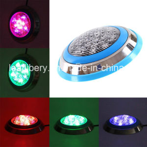 China 12x1w Underwater Color Changing Led Pool And Spa Light China Swimming Pool Light Pool Light
