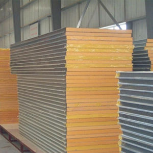 shanghai factory quality eps sandwich wall panel fireproof soundproof and light weight