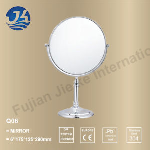 Bathroom Elegance Stainless Steel Desktop Table Vanity Mirror (Q06)