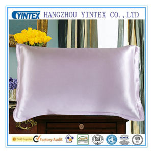 Luxury Pillowcase 100% Mulberry Silk Fabric/Silk Satin Pillowcase pictures & photos