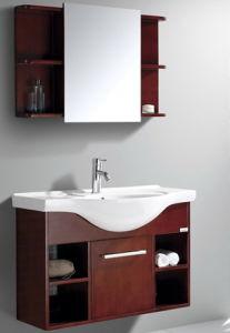 Oak Veneer Bathroom Vanity #Yjb-2012 (20) pictures & photos