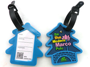 Top Quality Fashion Rubber Luggage Tag pictures & photos