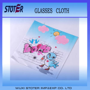 Advertising Logo Micro Fiber Fabrics Microfibre Glasses Cleaning Cloth for Glasses China Manufacturer