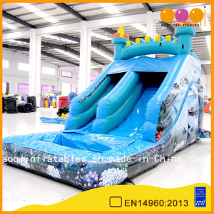 Big Sea Fort Inflatable Water Slide for Kid (AQ1081) pictures & photos