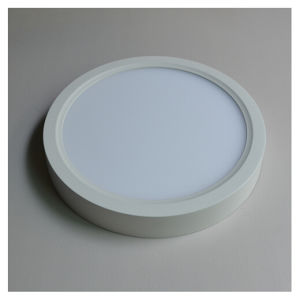 5.5USD 18W Round Surface Mounted Cool White LED Panel Light