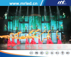 Shenzhen P12.5mm Rental LED Screen Full Color LED Curtain Display Stage Background Video Wall Screen pictures & photos