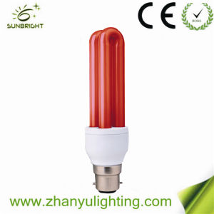 Red CFL Bulb Made in P. R. C pictures & photos
