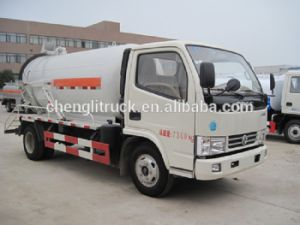 4 * 2 HOWO Camion Eaux Usees D′aspiration pictures & photos