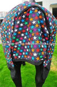 600d Horse Turnout Star Rug for Sale pictures & photos
