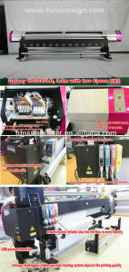 2 Dx5 Printheads 1440dpi Galaxy Ud3212ld Large Format Printer (3.2m/10FT, CMYK 4 colors, 1440dpi) pictures & photos