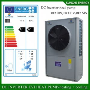 -25c Winter 19kw Evi DC Inverter Water Heater Heat Pump pictures & photos