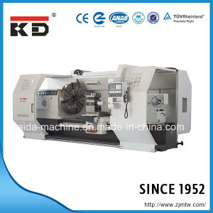 CNC Lathe Machine Big Bore Horizontal CNC Lathe Ck61125CE/8000 pictures & photos