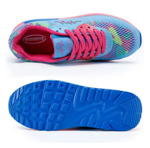 Sport Shoes Trainers Breathable Flat Walking Shoe for Women (AKSP1) pictures & photos