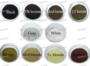 25g Fashion Cosmetic Hair Fiber Gray Natural Hair Building Fibers pictures & photos